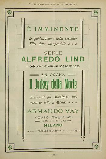 La cinematografia italiana ed estera 04 del 1915 Jockey della morte sml