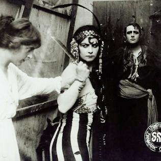 Zigeuneren Raphael 1914 Emilie Sannom 01 sq