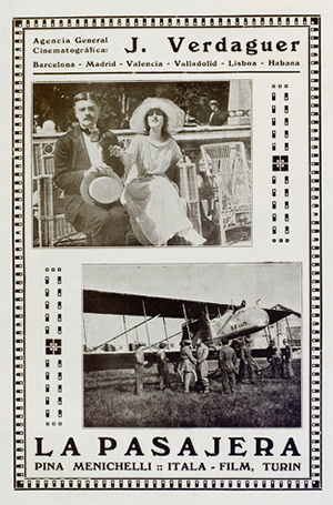 Arte y cinematografia - 186-187 01Aug18 Pina Menichelli La pasajera 3 sml